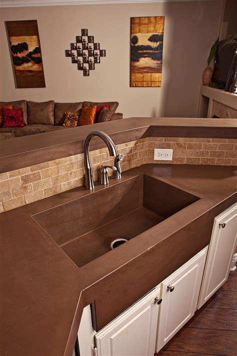 concrete countertops with farmhouse sink concrete countertops with farmhouse sink bathroom vanity