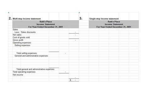 net income statement template 27 free income statement exles templates single