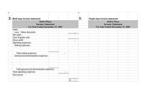 27 income statement exles templates single multi
