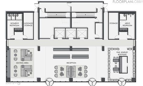 layout of lobby in hotel thesis a boutique hotel by shelley quinn at coroflot com