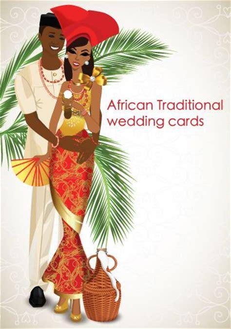 Nigerian Traditional Wedding Invitation Card