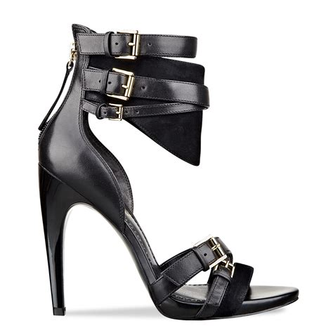 guess shoes taditi sandals in black lyst