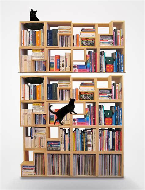 Desain Lemari Kreatif | 20 desain kreatif lemari buku dengan konsep mengagumkan