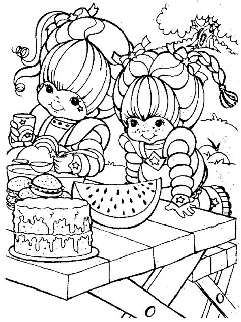 rainbow coloring page for adults printable coloring pages gt rainbow brite gt 23043 rainbow