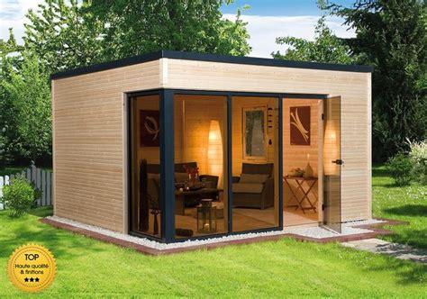 abri de jardin bois 20m2 abri de jardin toit plat 20m2 l habis