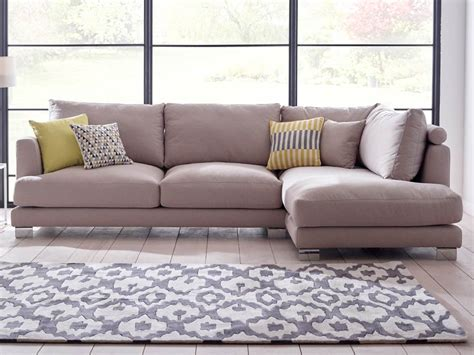 Georgia Upholstered Corner Sofa Living It Up Modern Corner Sofa