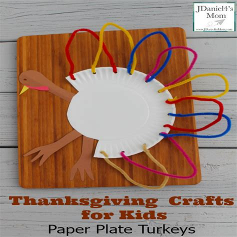 Thanksgiving Paper Crafts For - turkey crafts for with paper plates