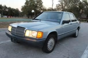Mercedes 190d by 1984 Mercedes 190 D 2 2 Diesel 190d For Sale Photos