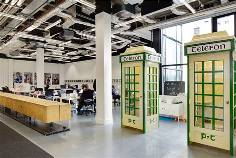 ireland office heneghan peng creates open collaborative spaces for airbnb dublin office