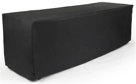 black polyester table cloth made of polyester
