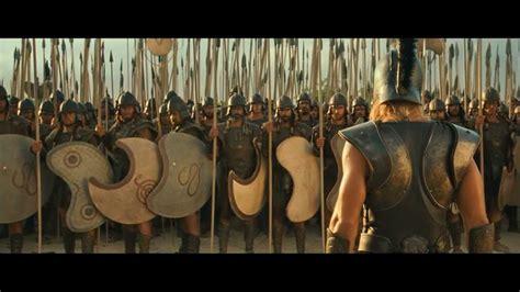 best ancient war movies epic fight scenes 10 troy achilles vs boagrius