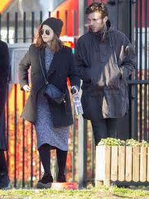 tom hughes on this morning jenna coleman is pictured kissing boyfriend tom hughes for