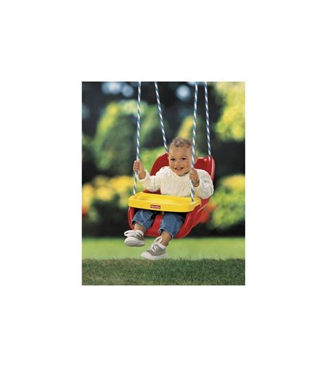red baby swing fisher price infant to toddler swing in red