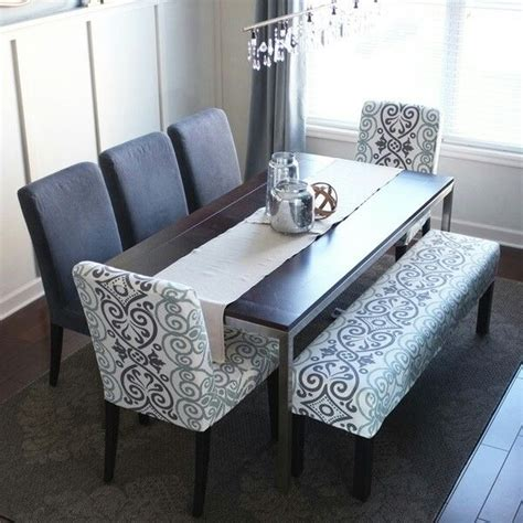 simple style home sweet en  dining room bench