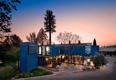 Shipping Container Home Interiors by Have A Look Around This Coffee Shop And Showroom Built