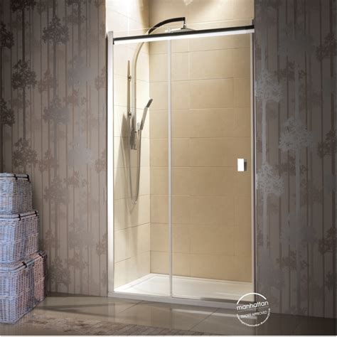 manhattan 8 slider alcove shower enclosure