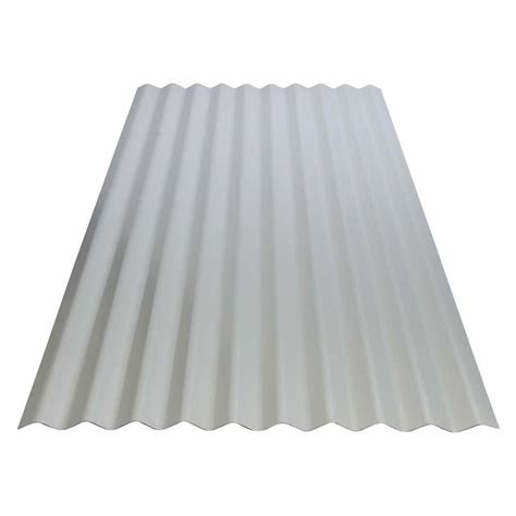 8 ft corrugated galvanized steel utility roof panel