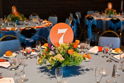 orange and blue decor royal blue and orange wedding theme www pixshark com