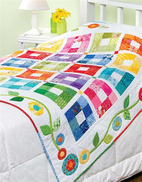 steppdecke farbig baby bright quilts leisurearts