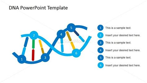 dna templates dna strands shapes for powerpoint slidemodel