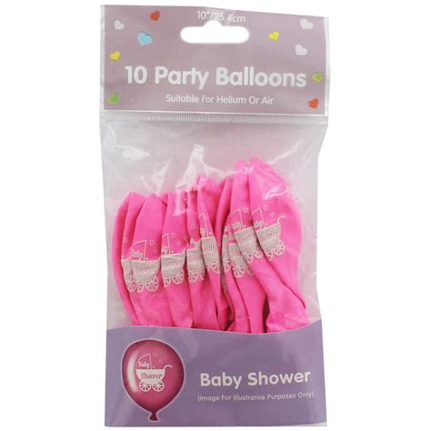 Top 10 Gifts For Baby Shower by Pink Baby Shower Balloons Pack Of 10 Gifts For Baby At