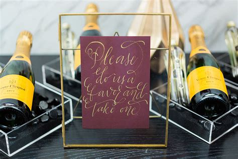Wedding Favors Downtown Los Angeles by Glamorous Gold Vibrant Vibiana Wedding