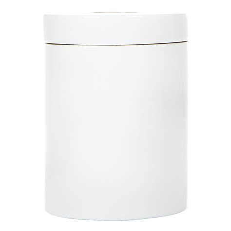 bin bathroom buy ekobo ringo glossy bathroom bin white amara
