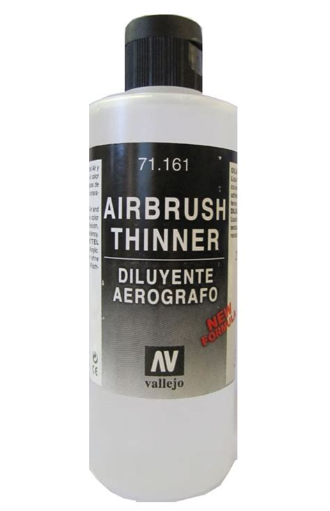 acrylic paint airbrush thinning comprar airbrush thinner 200 ml vallejo 71161 a 7 31
