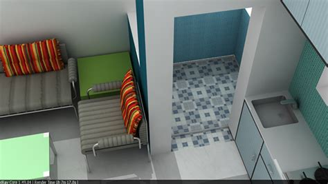 redesigning chawl interior design on behance