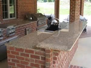 outdoor brick kitchen artisan interiors and builders