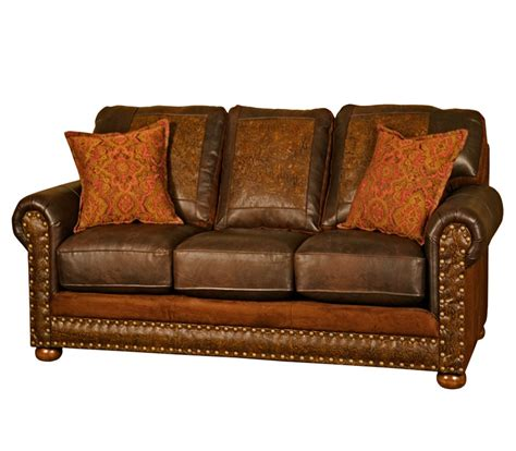 Western Sofas by Western Sofa Sleeper Rustic Sofa Sleeper