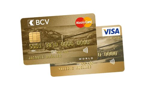 Plafond Achat Carte Visa by Carte De Cr 233 Dit World Mastercard 174 Visa Or Bcv Banque