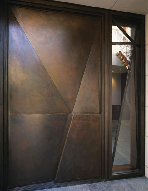 steel door design 23 metal front doors that are really inspiring shelterness