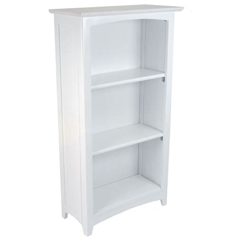 Kidkraft White Bookcase Avalon 3 Shelf Bookcase White By Kidkraft