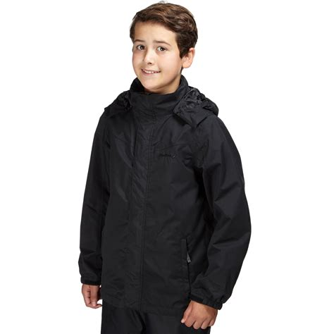 Jaket Boy Black 1 boys waterproof jacket