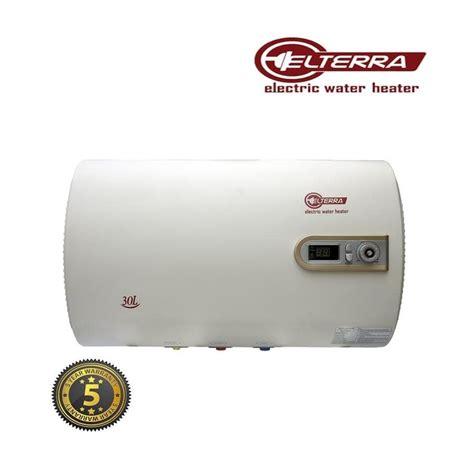 Elterra He 30 Et Water Heater Slim Hemat Listrik Cepat Panas elterra he 30 et water heater slim