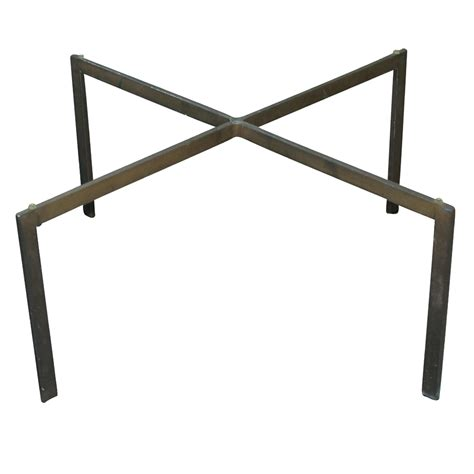 coffee table base 26 quot vintage x shaped barcelona brass coffee table base ebay