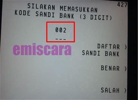 biaya transfer bri ke bank cara transfer bca ke bri via atm disertai gambar