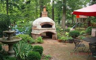 brick oven backyard brick box image outdoor brick oven
