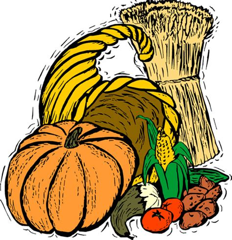 Free Clip Harvest Pictures by Harvest Festival Clipart Clipart Best