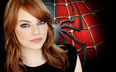 spider man film emma stone emma stone in the amazing spider man wallpapers hd