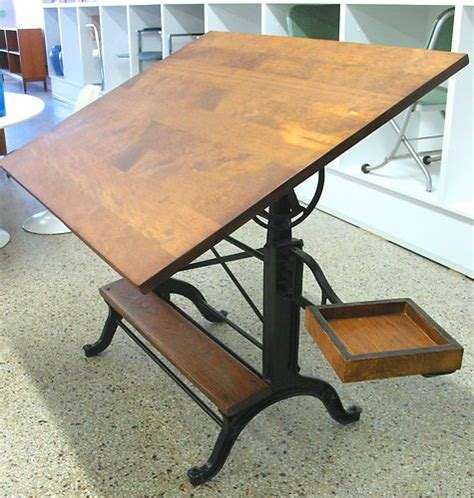 frederick post drafting table frederick post adjustable drafting table vtg antique