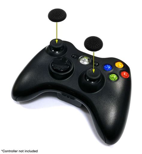orb thumb grips pack of 4 for official ps4 ps3 and xbox 360 controllers the gamesmen