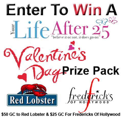 Fredericks Gift Card - enter to win red lobster and fredericks of hollywood gift cards ends 2 01 12
