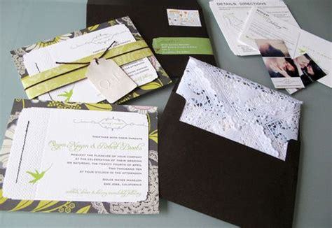 Scrapbooking Wedding Invitation Ideas by Kelsee S You Can Choose Lime Green And Black For