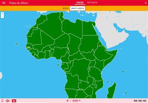 mapa de africa interactivo mapa para jugar 191 d 243 nde est 225 pa 237 ses de 193 frica mapas