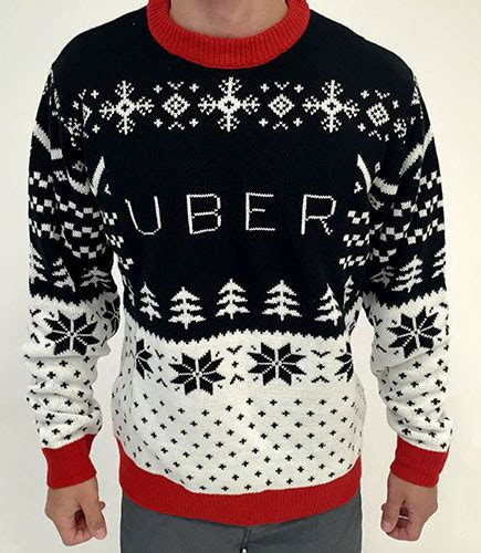 Sweater Uber With Back Print business gifts
