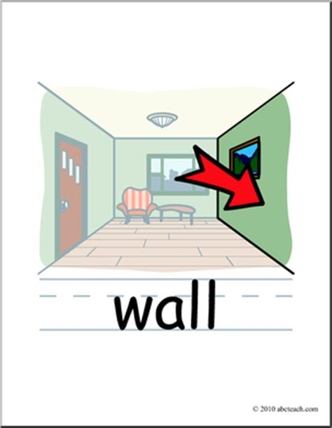 Room Wall Clipart On The Wall Of The House Clipart Clipground