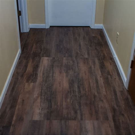 vinyl plank flooring in bathroom dark color best vinyl wood plank flooring in narrow