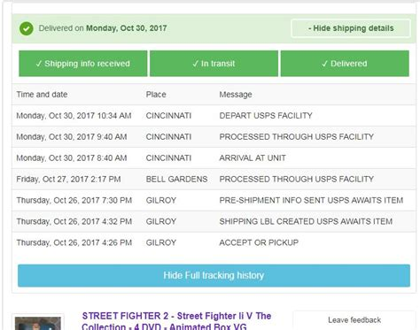 ebay global shipping tracking solved re global shipping usps tracking error the